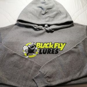 Blackfly Lures grey logo