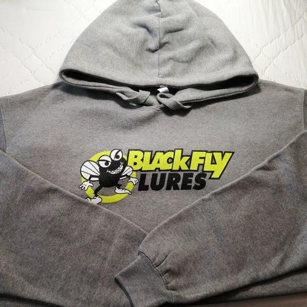 Blackfly Lures grey logo