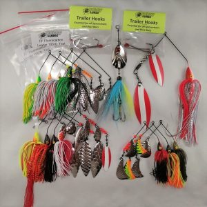 Large package of top selling pike lures and accessories