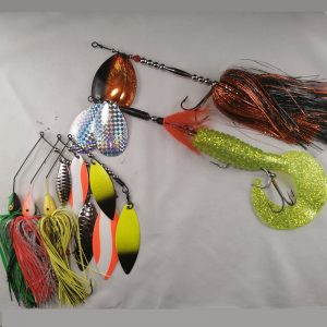 package of best selling musky lures